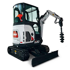 th Bobcat E20Z minikotro